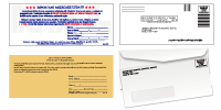 Direct Mail Leads Card & Envelope