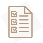Icon of a list